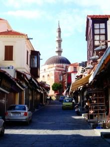 La vieille ville de Rhodes