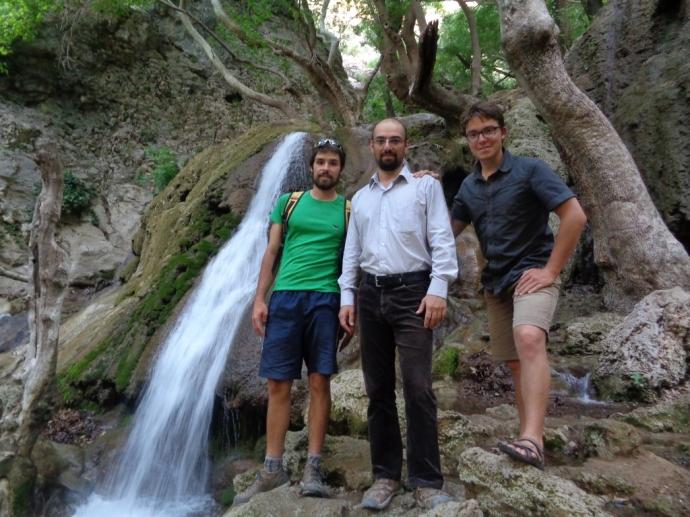 Roozbeh nous a accueillis deux fois, le long de la Caspienne et dans sa maison de Shiraz