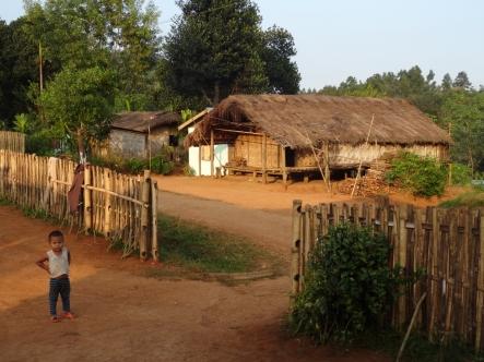 Notre petit village pour la nuit