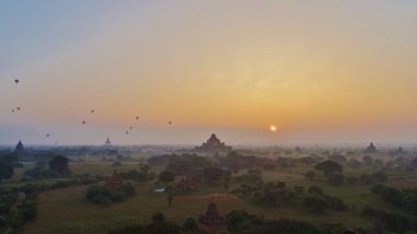 Myanmar : La cité de Bagan