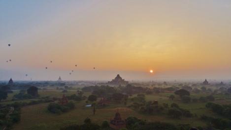 Myanmar - La cité de Bagan