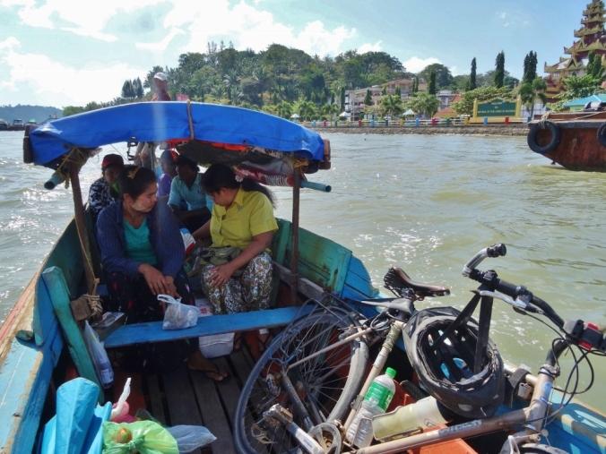 Passage de frontière vers la Thailande