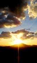 Coucher de soleil sur la Thaïlande