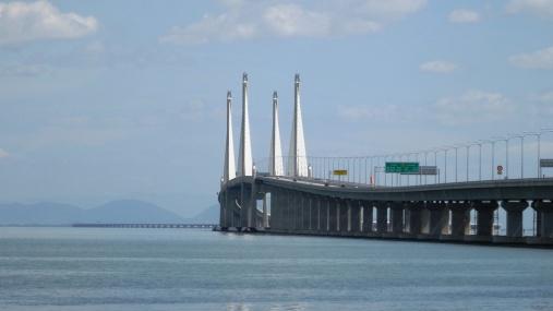 Le pont de Penang : 22 km !