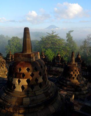 Java - Borobudur, un peu de Bouddhisme en terre musulmane