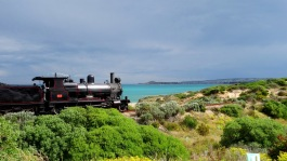 Australie - Train à l'ancienne