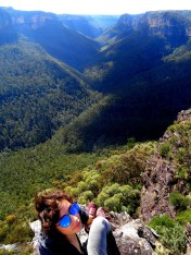 Australie :- Le grand canyon vert et bleu