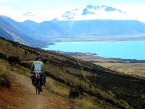 Nouvelle-Zélande - Lac Ohau, en route pour le Mt Cook.